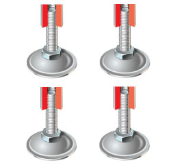 Stabiliser Feet set of 4